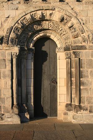 Doorway, Dalmeny Kirk.