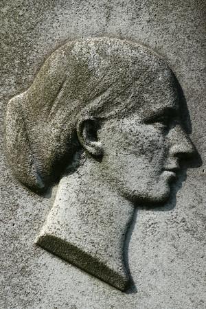 Detail of a gravestone, Grange Cemetery, Edinburgh.