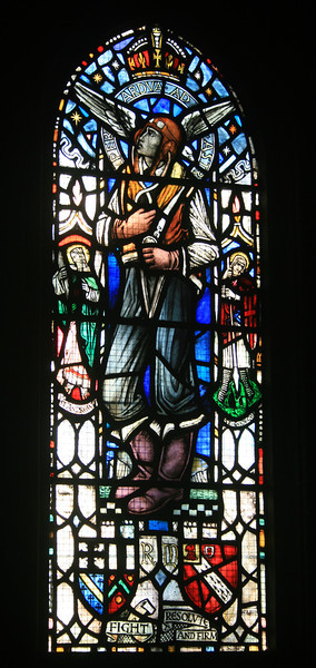 Stained glass, Roslyn Chapel.