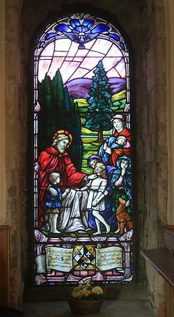 Stobo parish church, Scottish Borders.