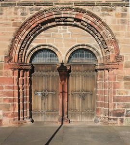 West Door, St Mary's Colegiate Church, Haddington