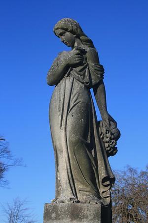Gravestone detail, St Mary's Churchyard, Haddington.