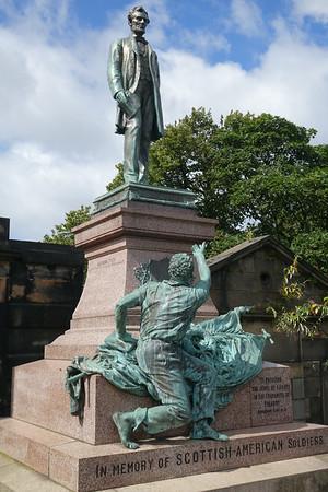 The Emancipation monument, Edinburgh.