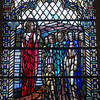 Stained glass, Oakshaw Trinity Church, Paisley.