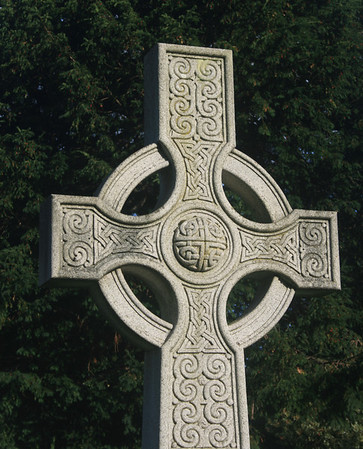 Celtic cross, Dean cemetery.