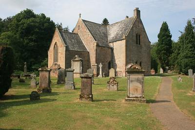 Humbie parish church, Midlothian.