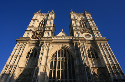 West front, Westminster Abbey.