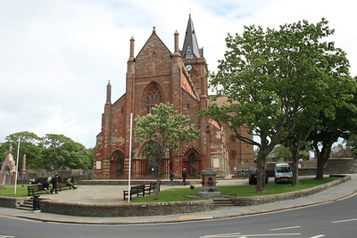 St Magnus Cathedral, Orkney. Britain's most northerly cathedral.