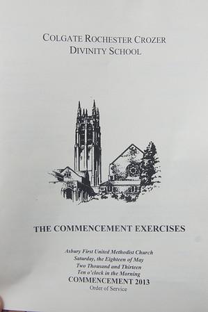 Congratulations Rev. Dr. Allen S. Potts