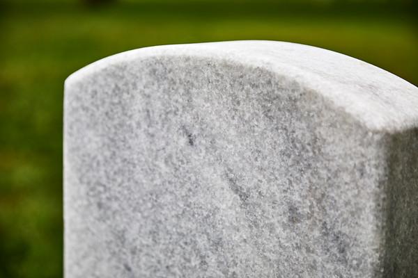A Blank Headstone
