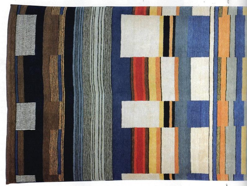 Handknotted Carpet - Detail, Left Half