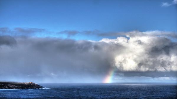 Rocks and Rainbow