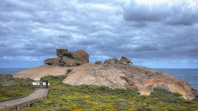 Remarkable Rocks from boardwalk