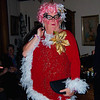 'Dame Edna,' aka Cyril, one of the many illustrious Christmas guests at Bob's home
