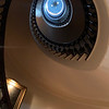 Bob fell in love with the spiral staircase that goes up five stories
