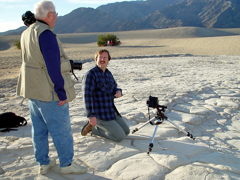 Don and Mark Rasmussen in Death Valley