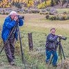 Don and Paul Riewerts in the Ohio Creek Valley, Colorado - Fall 2014