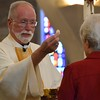 Fr. Ed shares communion