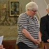 Fr. Ed thanked Barbara Haag for her devoted service -- her ministry --  to Fr. Yost in his final months.