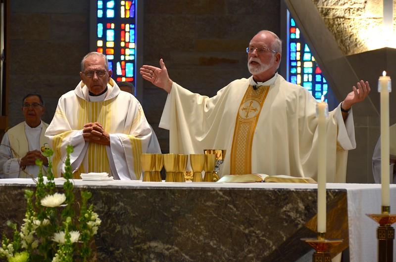 Fr. Richard, Fr. Ed