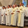 Dehonians from around the world in the ESL program, and SCJs from throughout the United States shared in the funeral Mass