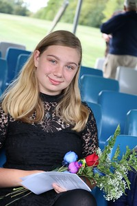 Cheyenne  Winter attended the ceremony in honor of her father,  Michael Winter of the Branch County Sheriff's Office,  who died last year. (Aileen Wingblad/Digital First Media)