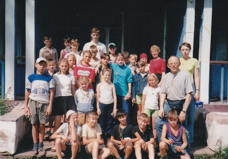 Camp attendance of orphans at Ivanavo Youth Camp