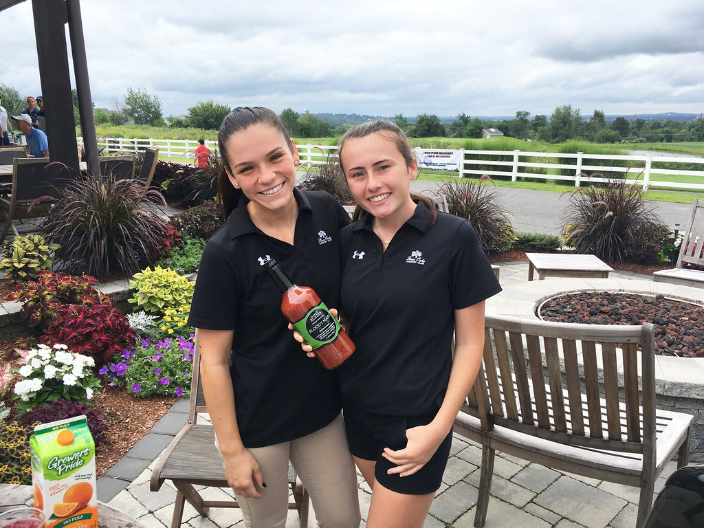 . Four Oaks� Tori Johnson of Dracut and Lyndsey McMahon of Lowell