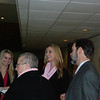 Mingling at the reception before the dedication and show. Marie, Brooke, Joel and Rachael.