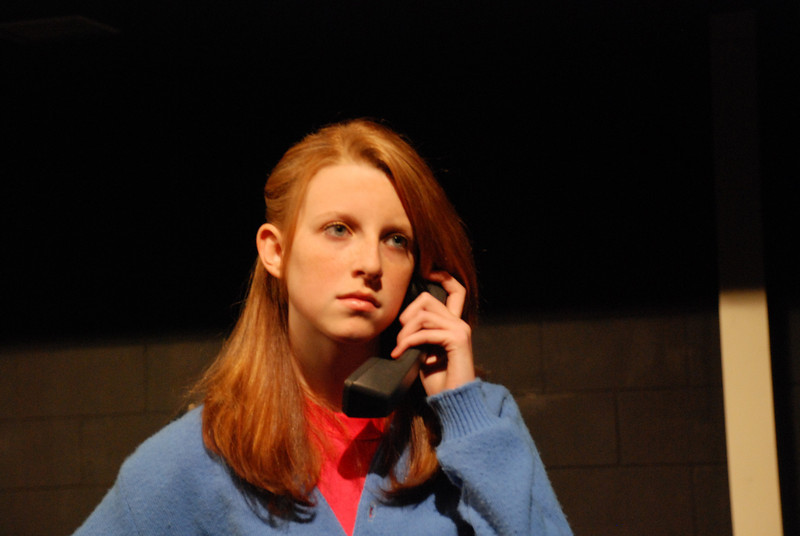 Holly Heneks played character 12, the same part as Casey in STW's 2004 production. Holly was outstanding, as was the entire cast.