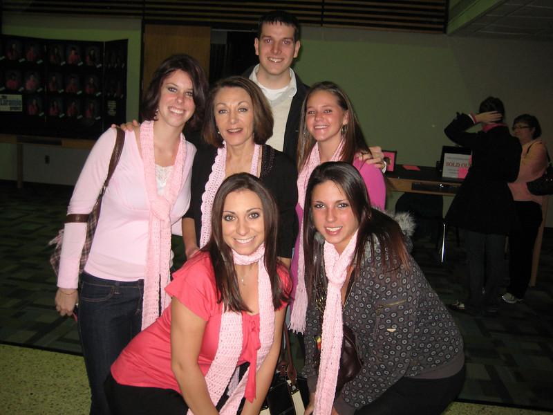 Lisa, Elyse, Danielle, Diann, Sami, and Joe.