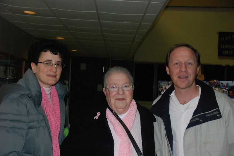 Nancy, Rachael and Michael Ceffaratti.