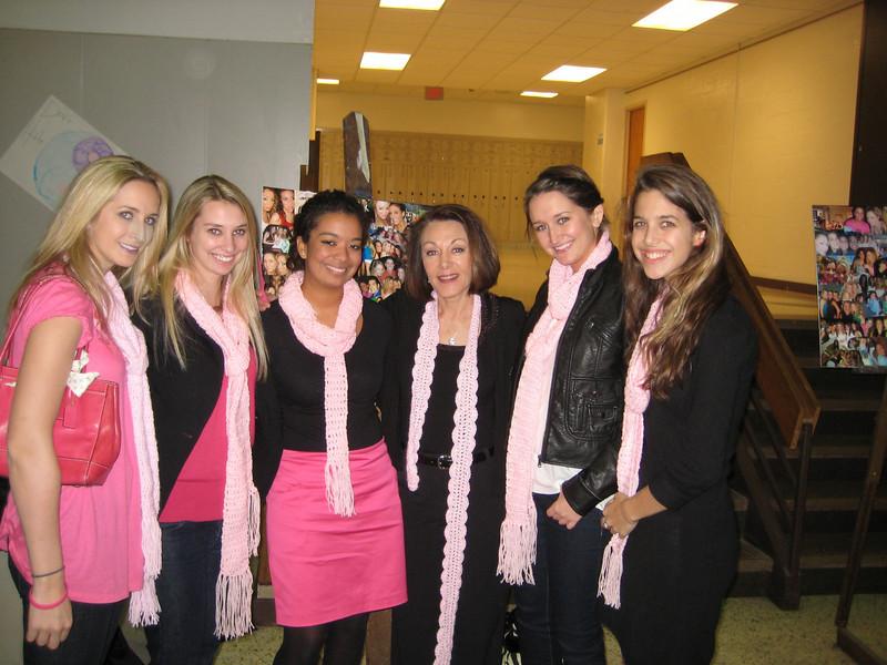Brooke, Marie, Kelsey, Dianne, Jamie and Janine.