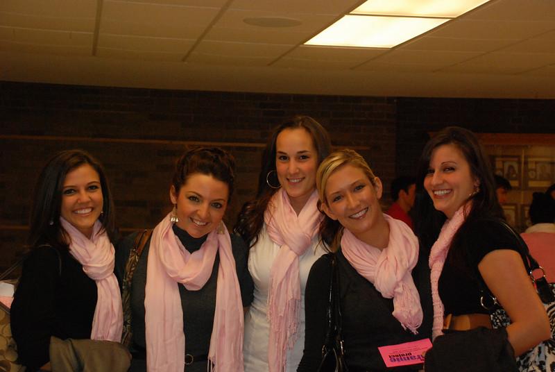 Jackie, Kaitlyn, Mallory, Melissa M. and Rachael Kemmey.