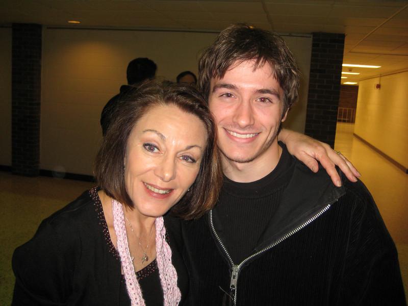 Dianne and her dear, sweet nephew Adam!