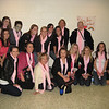 Pink ladies! Thank you Rachael for crocheting all of those pink scarfs!!
