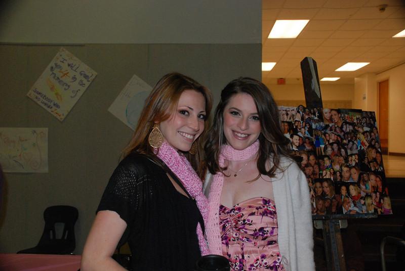 Melissa Zirolli and Amber Staska.