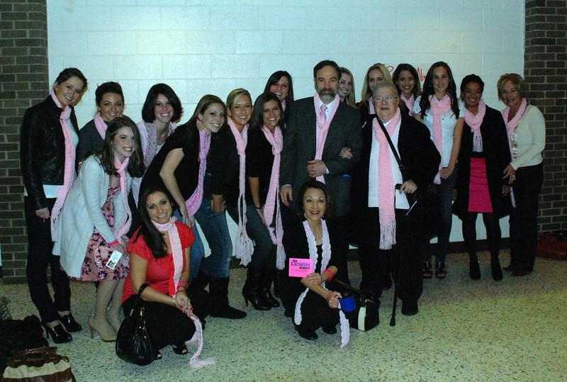 Pink ladies and Joel!