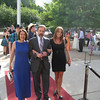Joel escorting Dianne and Melissa on the red carpet.