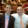 "Matt Grace and Dan Bergels (Casey's high school theater friends) at the Cappies gala. Both Matt and Dan were also in multiple theater productions with Casey including <a href=""http://caseyfeldman.smugmug.com/High-School-Years/High-School-Theatre/The-Odd-Couple/9388794_VsVpB#628781572_w7Gtu""> The Odd Couple</a>.  Sorry Matt and Dan - this one was taken with my cell phone!"