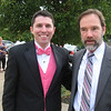 John Gildea and Joel. All of the Laramie cast men wore pink in honor of Casey.