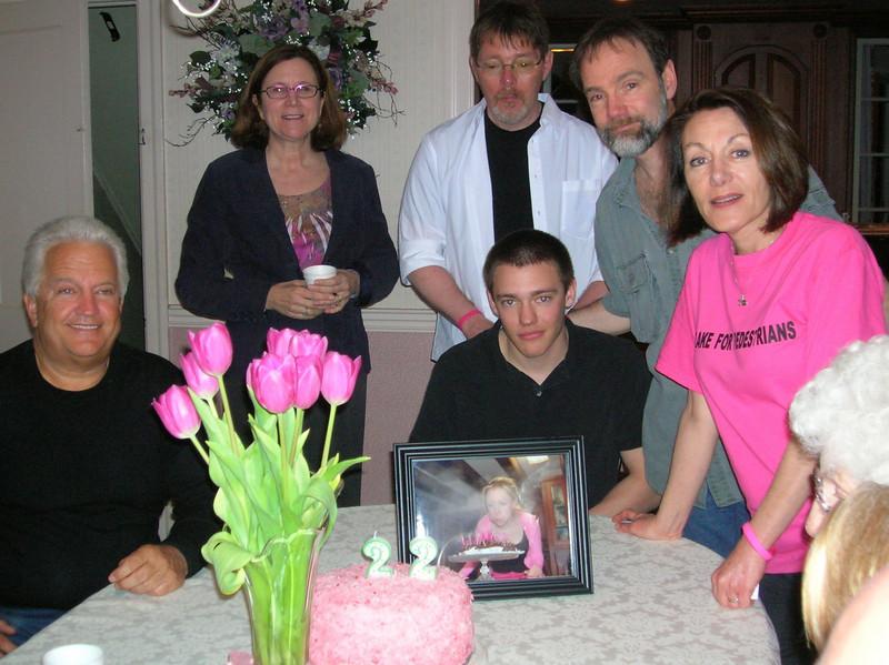 Uncle Jim, Aunt Carol, Uncle Andy, Joel, and Dianne
