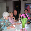 Casey's Mom Mom Anderson, Aunt Susan, Uncle Jay and Dad.