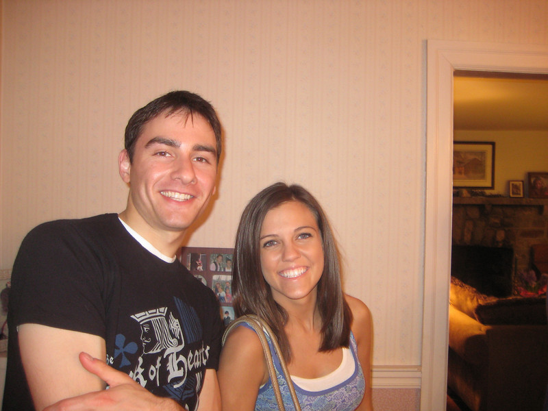 Casey's cousin Nick Seminoff and Jackie Cahill