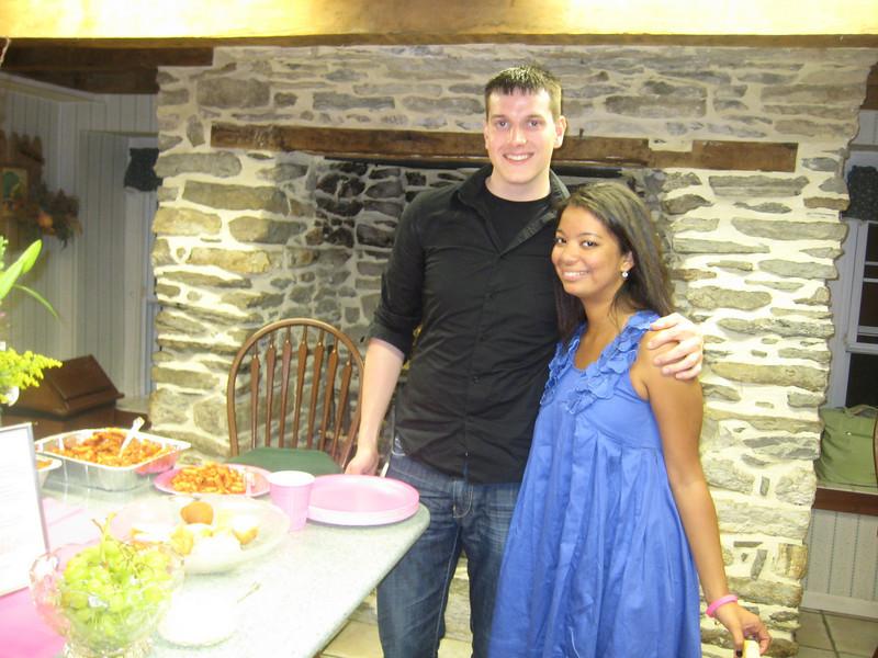 Joe Mossman and Kelsey Butler