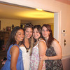Casey's Fordham roommates. Left:Kelsey Butler, Janine Repka, Cassie Foote and Christina Halligan