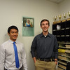 Jasper Chang (L) and Harry Huggins, recipients of Casey Feldman Foundation Observer scholarships