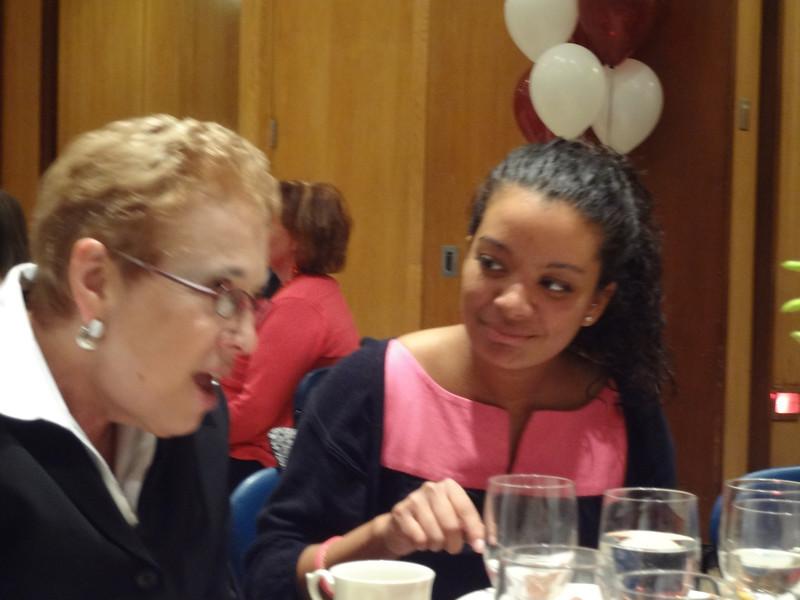 Dr. Elizabeth Stone and Kelsey Butler
