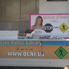 "The Casey ""Stop for Pedestrian"" poster was prominently displayed, as Casey story was relayed to the public at the event."