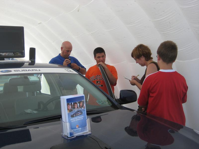 The Subara Drive Ssquare simulated vehicle